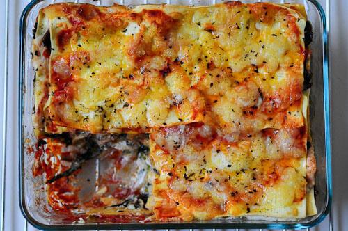 Spinach Mushroom Lasagna Recipe Dropwall Today