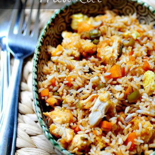 Chicken Fried Rice Recipe: Indian-Chinese Style Recipe