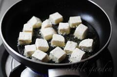 sesame tofu recipe with hot and sweet sauce