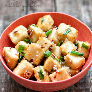 Sesame Tofu Recipe with Hot & Sweet Sauce – Step by Step