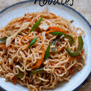 Vegetable Noodles Recipe – Indo Chinese Veg Noodles Recipe