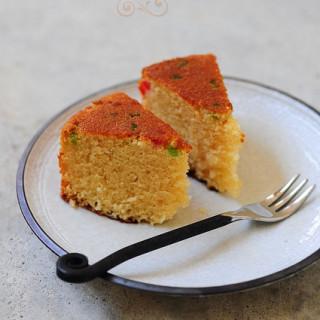 pressure cooker eggless sponge cake recipe (no oven cake)