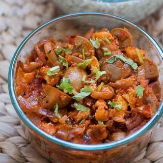 Dingri Dolma – Mushroom Paneer Masala Recipe – Awadhi Cuisine
