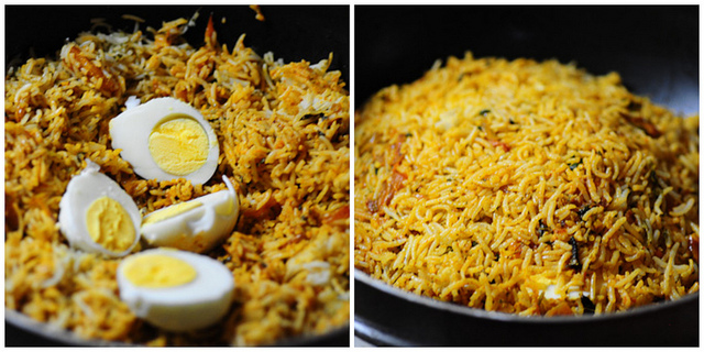 egg biryani recipe 10