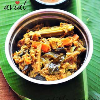 Avial recipe, Kerala-style aviyal, how to make avial