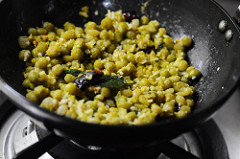 green peas sundal-south indian navratri recipe-5