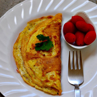 Cheese Omelet Recipe – Fluffy Omelet Recipe with Cheese