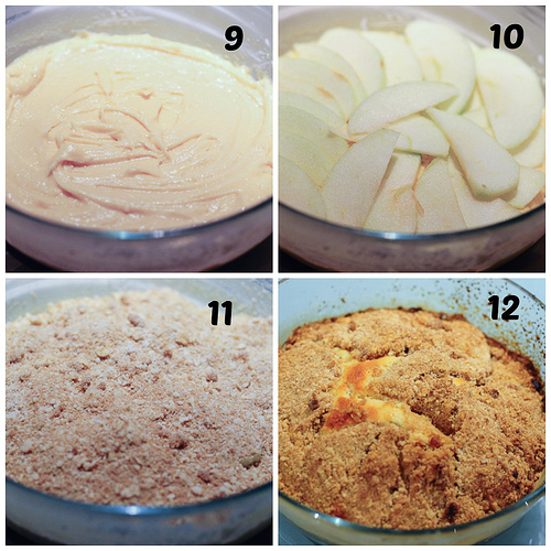 Apple Streusel Cake, how to make Apple Streusel Cake