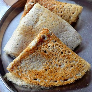 Jowar Dosa – Sorghum (Jonnalu) Dosa –  South Indian Dosa Recipes