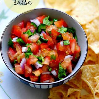 Fresh Chunky Tomato Salsa Recipe – How to Make Tomato Salsa at Home