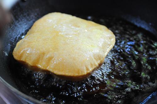 corn flour poori-corn flour puri-easy breakfast ideas-7