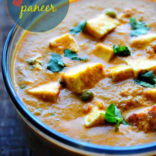 Matar Paneer Recipe – Mattar Paneer – How to Make Mutter Paneer Masala