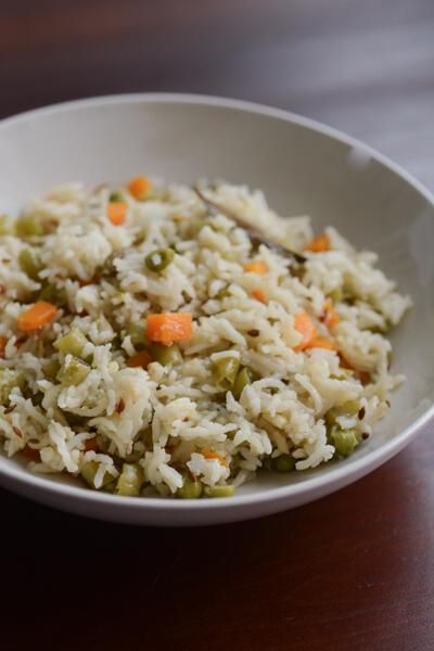 vegetable pulao recipe, how to make vegetable pulao recipe
