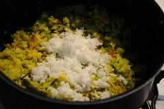 cabbage poriyal recipe-how to make cabbage poriyal-9