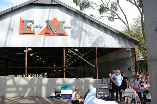 eveleigh market farmers market sydney