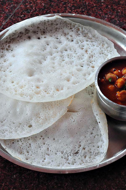 kerala appam recipe with yeast-appam recipe