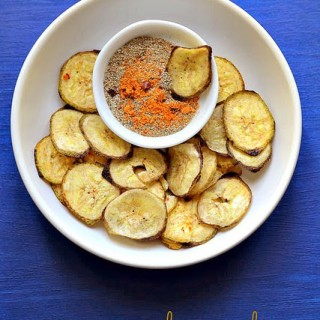 Microwave banana chips, how to make chips in microwave