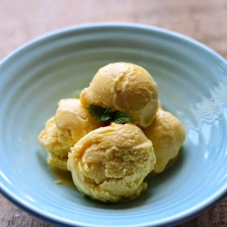 Eggless Mango Ice Cream Recipe, Condensed Milk Mango Ice Cream