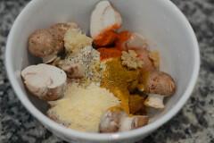 mushroom tikka-mushroom tikka recipe