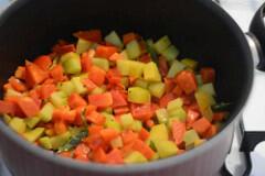 chow chow capsicum curry recipe-3