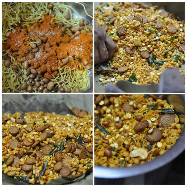 how to make south indian mixture recipe
