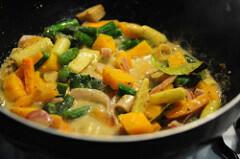 vegetarian thai green curry recipe-7