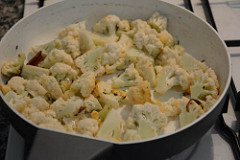 gobi mushroom masala recipe-3