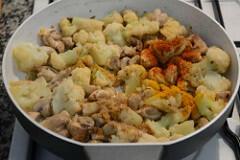 gobi mushroom masala recipe-6