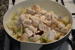gobi mushroom masala recipe-5
