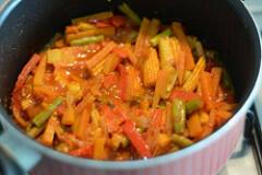 vegetable jalfrezi recipe, vegetable jalfrezi-8