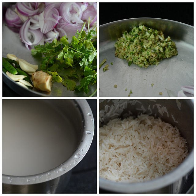 pressure cooker chicken biryani recipe