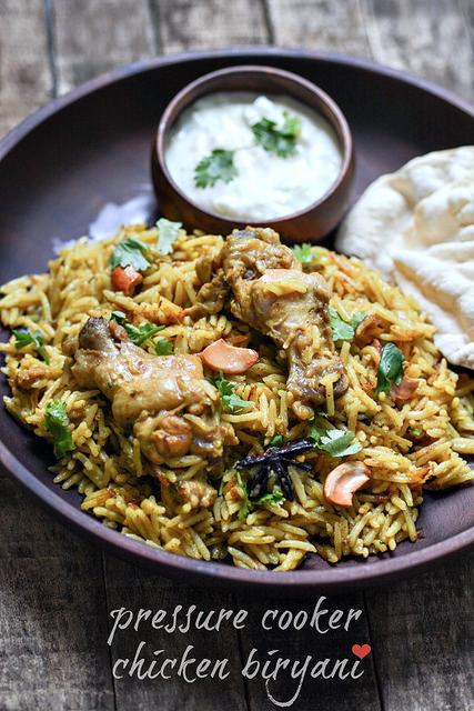 chicken biryani recipe pressure cooker method