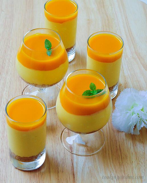 easy mango recipes to use up ripe mangoes-mango cheesecake recipe