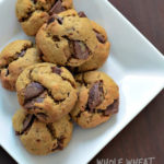 whole wheat atta chocolate chip cookies recipe