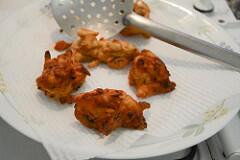 Ulli vada onion vada recipe, Kerala tea time snack-7