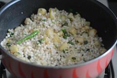 sabudana khichdi, sago khichdi recipe-12