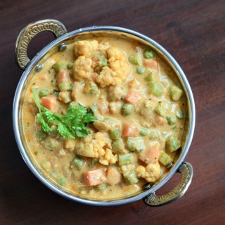 Mughlai Vegetable Korma, Easy Veg Korma Recipe