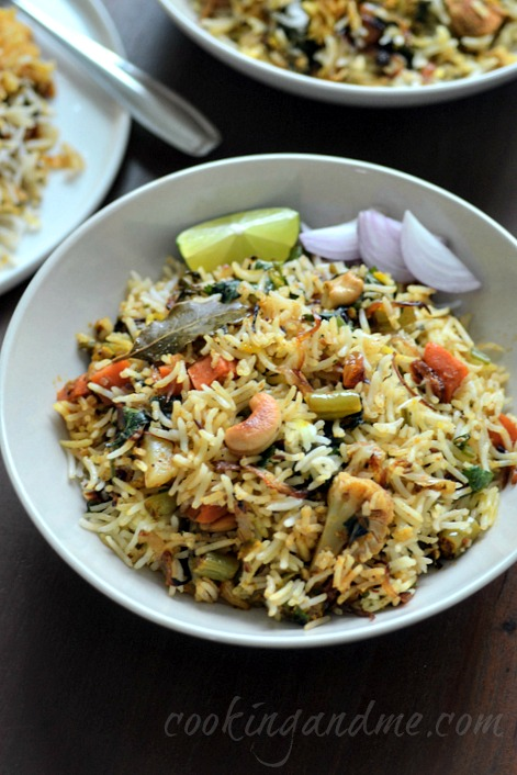 Hyderabadi Vegetable Dum Biryani Veg Biryani Step By Step Edible Garden