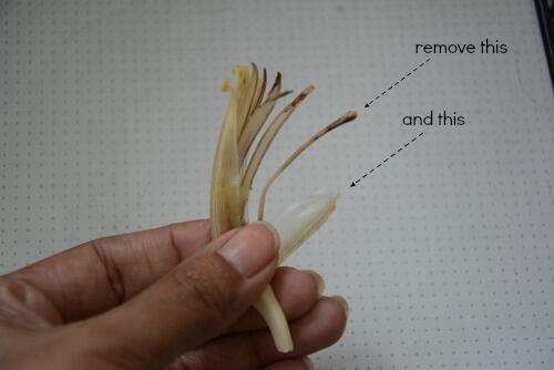 banana flower thoran, how to make banana flower thoran recipe