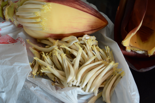 banana flower thoran, how to make banana flower thoran recipe-2