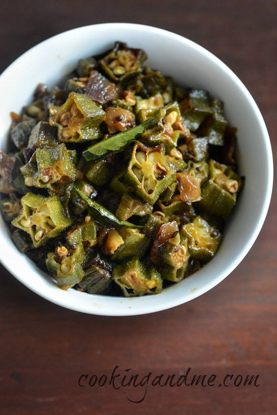 okra masala recipe, how to make bhindi masala ed2