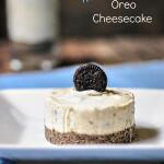 eggless no bake oreo cheesecake recipe