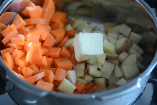 carrot potato soup, healthy indian soup recipes