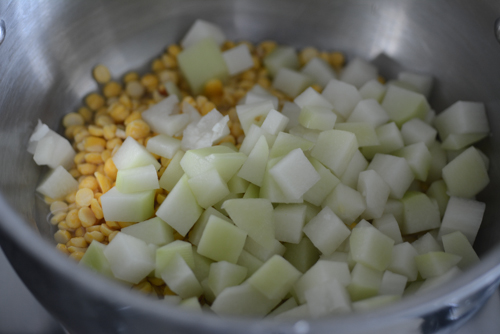 chow chow kootu recipe