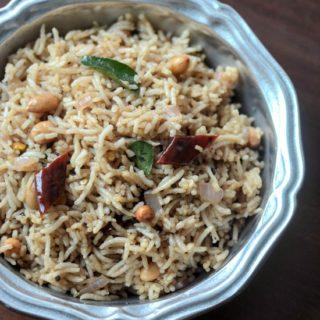 Tamarind rice recipe, how to make easy tamarind rice