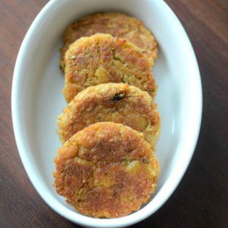 Arbi tikki recipe, how to make arbi tikki step by step