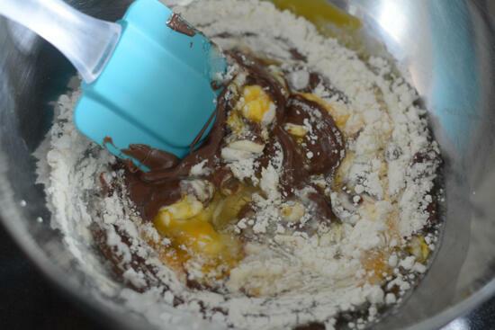 4 ingredient nutella cookies recipe