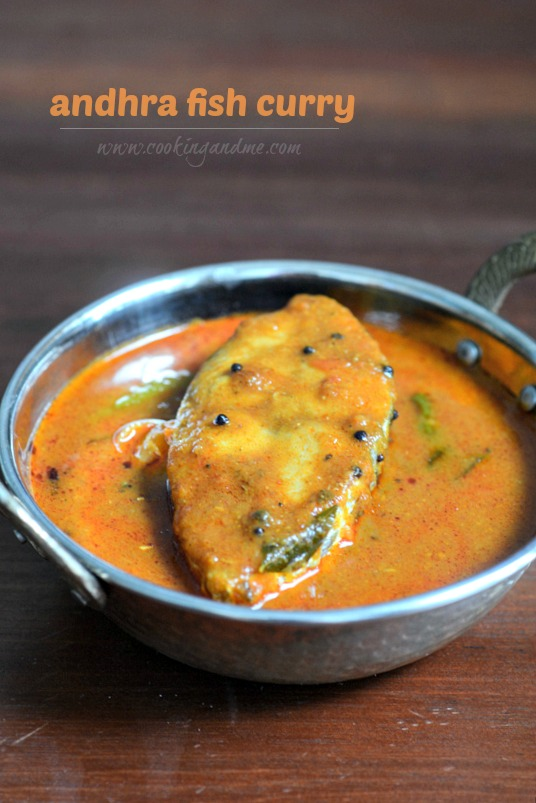 Andhra fish curry recipe how to make Andhra fish curry