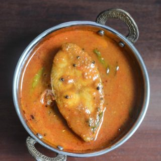 Andhra fish curry recipe, how to make Andhra fish curry