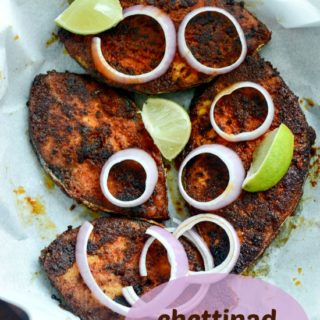 chettinad fish fry meen varuval recipe
